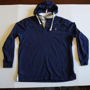 Polo Padded Hoodie long sleeve Shirt  M